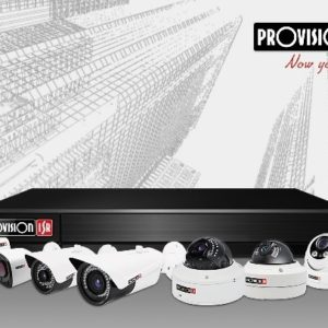 PROVISION ISR CAMERA PACKAGE – IP 16